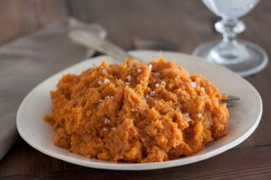 Рецепт Пюре из сладкого картофеля