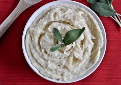 Рецепт Картофельное пюре с коричневым маслом