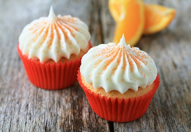 Рецепт Апельсиновые кексы с шоколадом