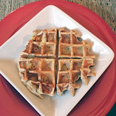 Рецепт Яблочные вафли с корицей — рецепт для вафельницы