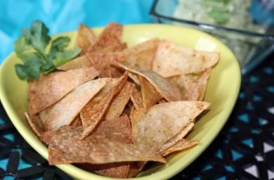 Рецепт Кукурузные чипсы