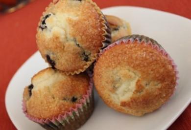 Рецепт Черничные кексы