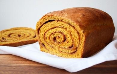 Рецепт Тыквенный хлеб-рулет