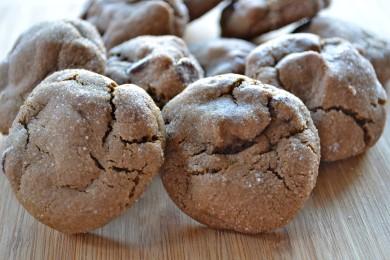 Рецепт Имбирное печенье с шоколадом