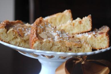 Рецепт Шведский миндальный пирог
