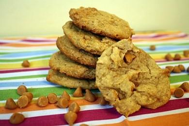 Рецепт Тыквенное печенье с карамелью