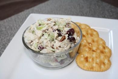 Рецепт Куриный салат с орехами