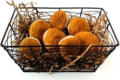 Рецепт Тыквенное печенье с кремом