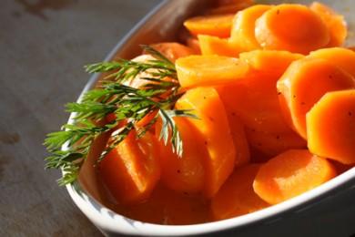 Рецепт Морковь, глазированная в меду