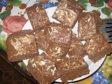 Рецепт Шоколадные пирожные с лесным орехом