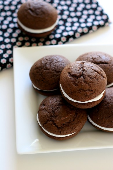 Рецепт Шоколадное печенье-сэндвичи