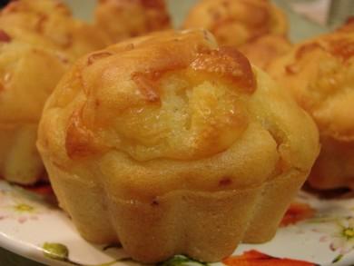 Рецепт Маффины с ветчиной и сыром