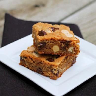 Рецепт Пирожные блонди с шоколадом