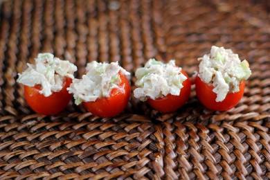 Рецепт Фаршированные помидоры черри