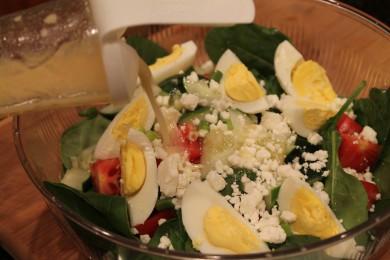 Рецепт Заправка для салатов с горчицей