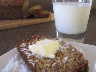 Рецепт Бананово-кокосовый хлеб