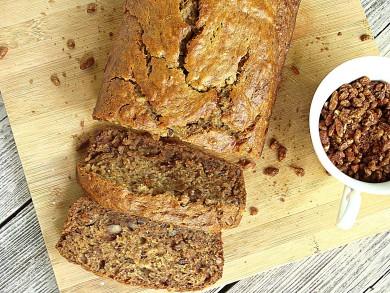 Рецепт Банановый хлеб с пеканом