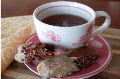 Рецепт Бискотти с карамельной глазурью