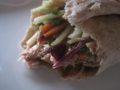 Рецепт Тако с свининой и салатом из брокколи