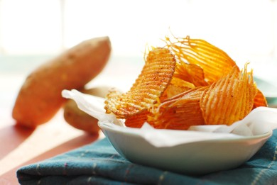 Рецепт Картофельные чипсы