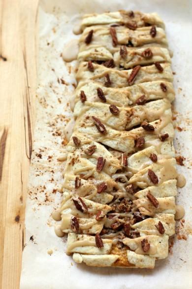 Рецепт Тыквенный пирог с пеканом