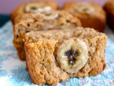 Рецепт Бананово-арахисовый хлеб