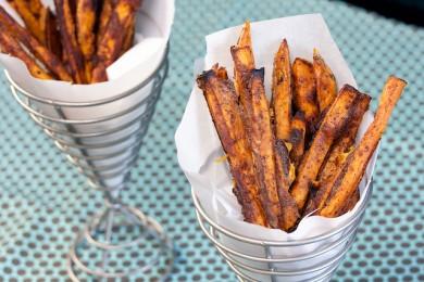 Рецепт Запеченный сладкий картофель со специями