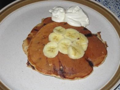 Рецепт Банановые блины