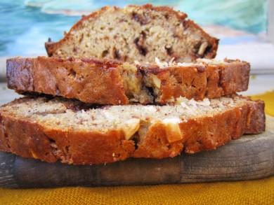 Рецепт Банановый хлеб с миндалем
