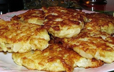 Рецепт Оладьи с капустой