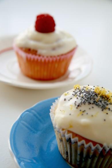Рецепт Лимонные кексы с маком