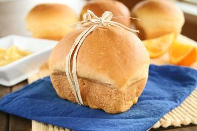Рецепт Хлеб из сладкого картофеля с апельсиновым маслом