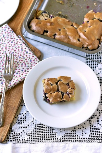 Рецепт Пирожные с черникой