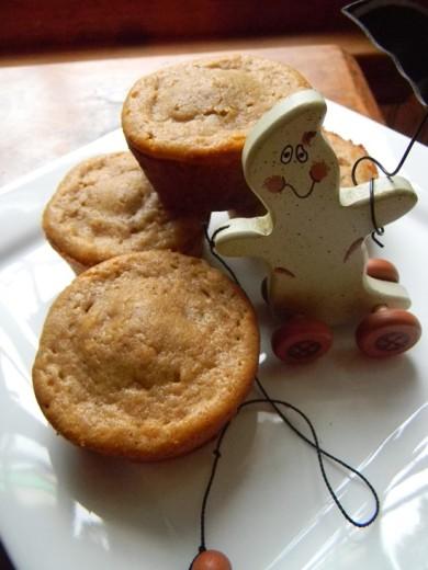 Рецепт Кексы со сладким картофелем