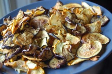 Рецепт Овощные чипсы
