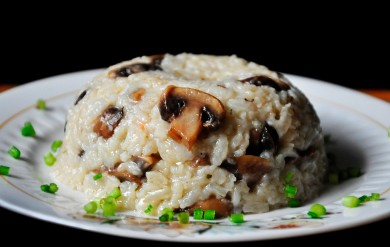 Рецепт Рисовый плов с грибами