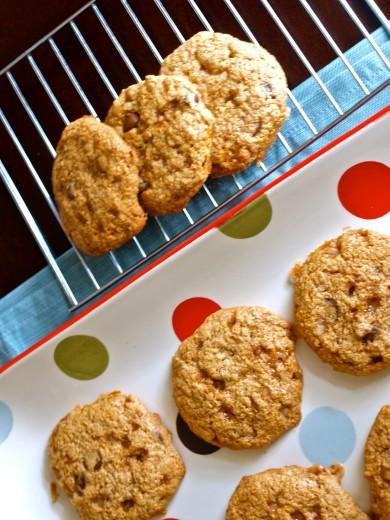 Рецепт Печенье с орехами и карамелью