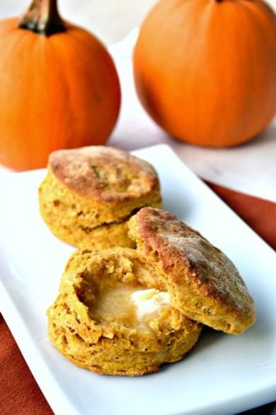 Рецепт Легкое тыквенное печенье