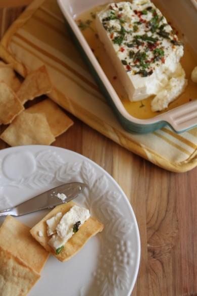 Рецепт Запеченный сыр Фета