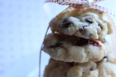 Рецепт Печенье с клюквой и шоколадом