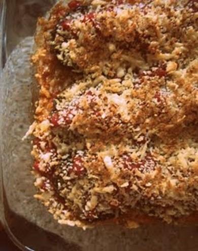 Рецепт Запеченные кабачки с сыром