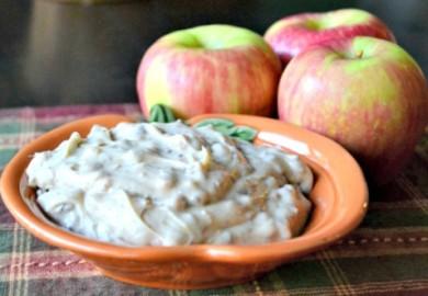 Рецепт Соус с ирисом и яблоками