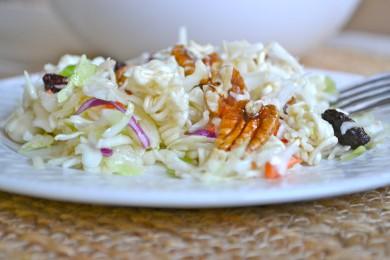 Рецепт Капустный салат с лапшой