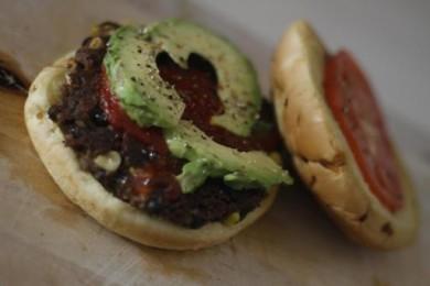 Рецепт Бургеры со специями и черной фасолью
