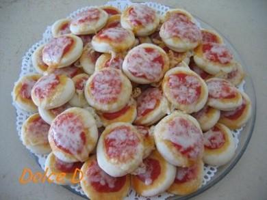 Рецепт Маленькие Пиццеты к завтраку