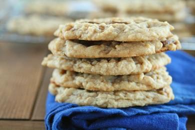 Рецепт Печенье с шоколадом и карамелью