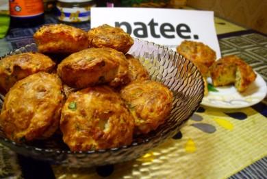 Рецепт Маффины с сыром,томатом и зеленью
