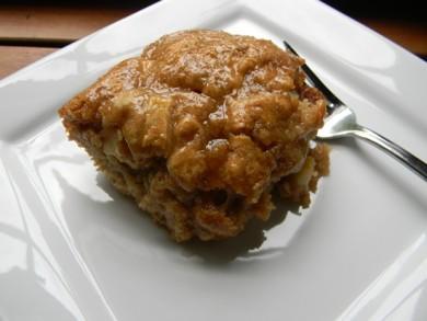Рецепт Яблочный кекс с глазурью