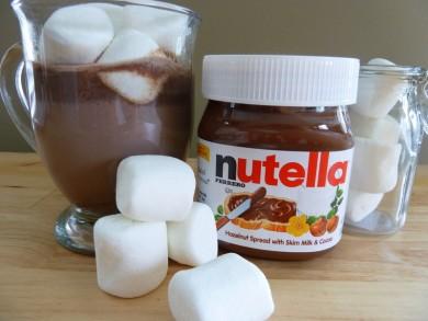 Рецепт Горячий шоколад с нутеллой