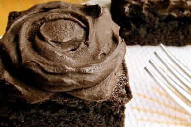 Рецепт Брауни с шоколадной глазурью